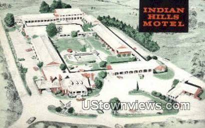 Indian Hills Motel  - Richmond, Virginia VA Postcard