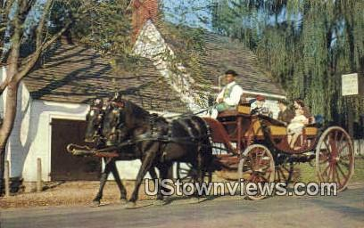 Mulberry Phaeton  - Williamsburg, Virginia VA Postcard