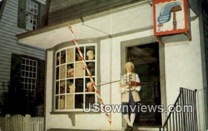 Kings Arms Barber Shop  - Williamsburg, Virginia VA Postcard