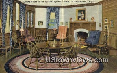 Market Square Tavern  - Williamsburg, Virginia VA Postcard