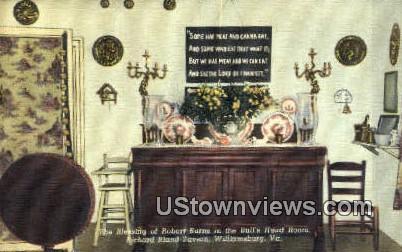 Richard Bland Tavern - Williamsburg, Virginia VA Postcard
