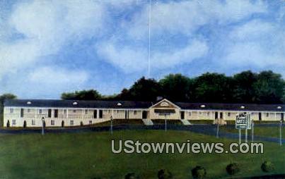 Piedmont Motel - Leesburg, Virginia VA Postcard