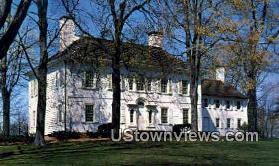 The Ford Mansion  - Morristown, Virginia VA Postcard