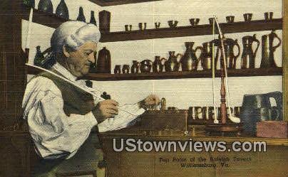 The Tap Room of The Raleigh Tavern  - Williamsburg, Virginia VA Postcard