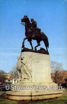 Equestrian Statue  - Charlottesville, Virginia VA Postcard
