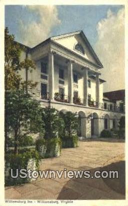 Inn - Williamsburg, Virginia VA Postcard
