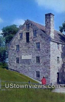 George Washington Grist Mill  - Mount Vernon, Virginia VA Postcard