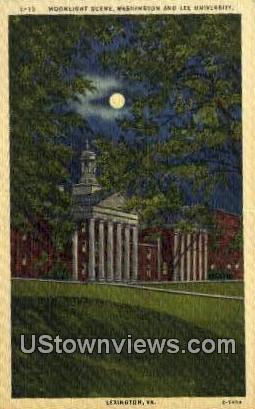 Washington & Lee U  - Lexington, Virginia VA Postcard