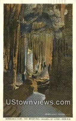 Saracens Tenet Beautiful Caverns - Luray, Virginia VA Postcard