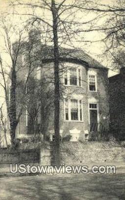 Ann Carrington House  - Richmond, Virginia VA Postcard