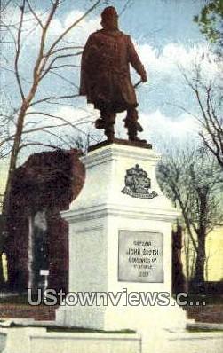 Monument Of Captain John Smith  - Jamestown, Virginia VA Postcard