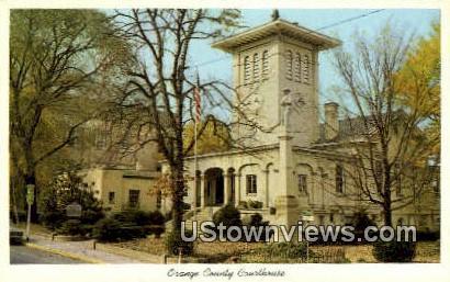 Orange County Courthouse  - Virginia VA Postcard