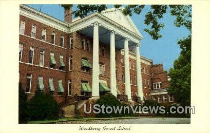 Woodberry Forest School  - Virginia VA Postcard