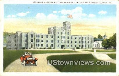 Barracks Augusta Military Academy  - Fort Defiance, Virginia VA Postcard