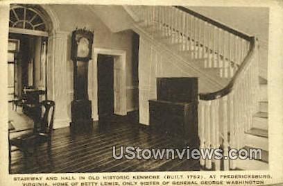 Old Historic Kenmore  - Fredericksburg, Virginia VA Postcard