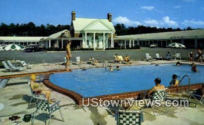 Colony Motel  - Williamsburg, Virginia VA Postcard