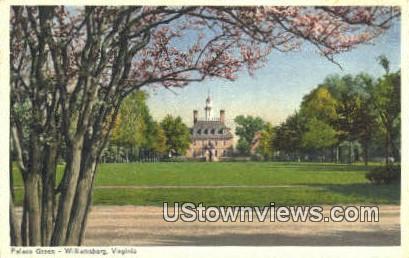 Palace Green  - Williamsburg, Virginia VA Postcard