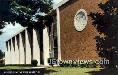 Foreign Mission Board  - Richmond, Virginia VA Postcard