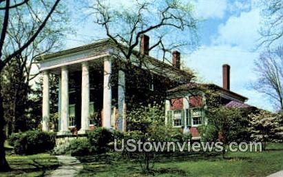 The Lee Jackson House  - Lexington, Virginia VA Postcard