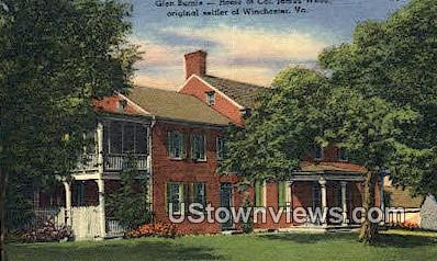 Glen Burnie  - Winchester, Virginia VA Postcard