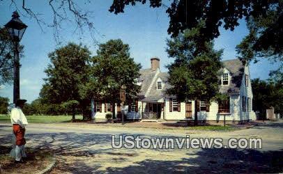 Chownings Tavern  - Williamsburg, Virginia VA Postcard
