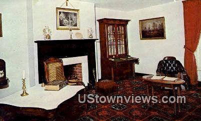 Parlor of McLean House  - Appomattox County, Virginia VA Postcard