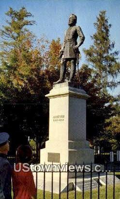The Burial Place - Lexington, Virginia VA Postcard