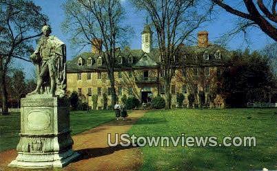 Wren Bld College of William & Mary  - Williamsburg, Virginia VA Postcard