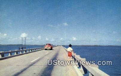 Bridge To Roanoke  - Virginia VA Postcard