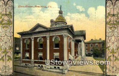 Court House  - Staunton, Virginia VA Postcard