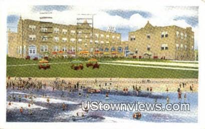 The Pinewood Hotel  - Virginia Beach Postcards, Virginia VA Postcard