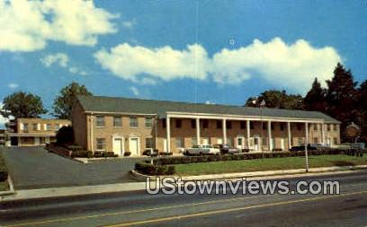 Village House Motor Court Hotel  - Falls Church, Virginia VA Postcard