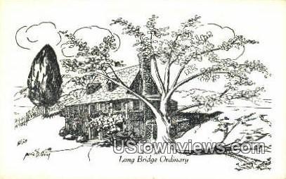 Long Bridge Ordinary  - Gloucester, Virginia VA Postcard