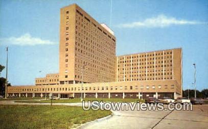 Naval Hospital  - Portsmouth, Virginia VA Postcard