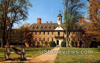 Wren Bld College Of William & Mary  - Charlottesville, Virginia VA Postcard