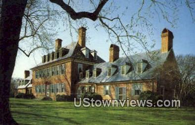 Carters Grove Plantation  - Williamsburg, Virginia VA Postcard