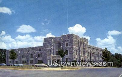 Carol M Newman Library Virginia Tech - Blacksburg Postcard