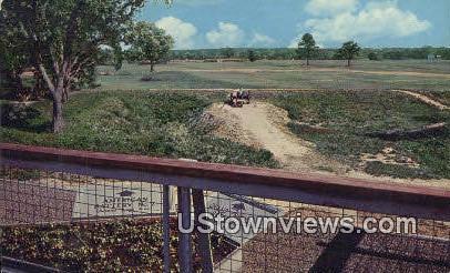 Battlefield - Yorktown, Virginia VA Postcard