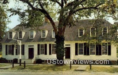 Wetherburns Tavern  - Williamsburg, Virginia VA Postcard