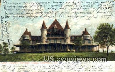 Virginia Christian College  - Lynchburg Postcard