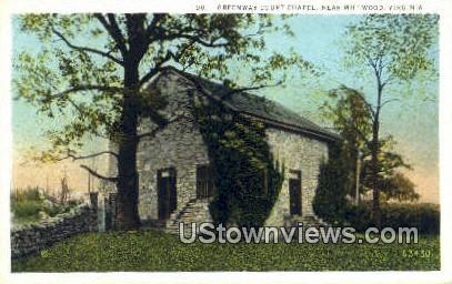 Greenway Court Chapel  - Millwood, Virginia VA Postcard