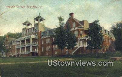 Virginia College  - Roanoke Postcard