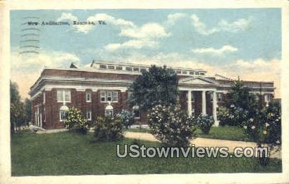 New Auditorium  - Roanoke, Virginia VA Postcard