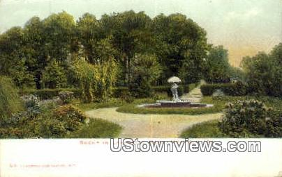Lafayette Park  - Norfolk, Virginia VA Postcard