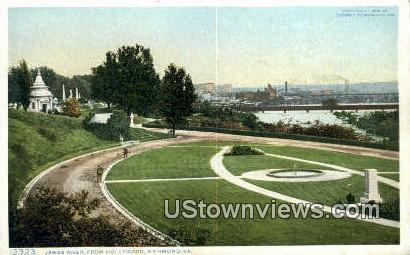 James River Hollywood  - Richmond, Virginia VA Postcard