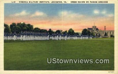 Virginia Military Institute  - Lexington Postcard