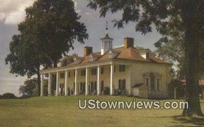 River Front  - Mount Vernon, Virginia VA Postcard