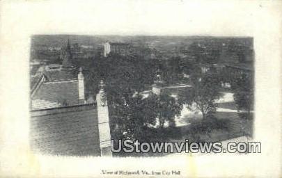 City Hall     - Richmond, Virginia VA Postcard