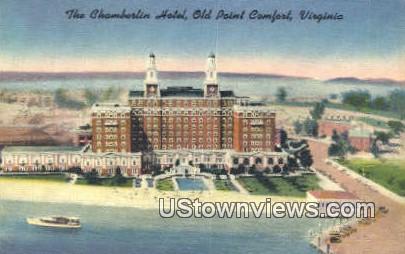 The Chamberlain Hotel  - Old Point Comfort, Virginia VA Postcard