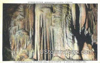 Tiffany Hall - Shenandoah Caverns, Virginia VA Postcard